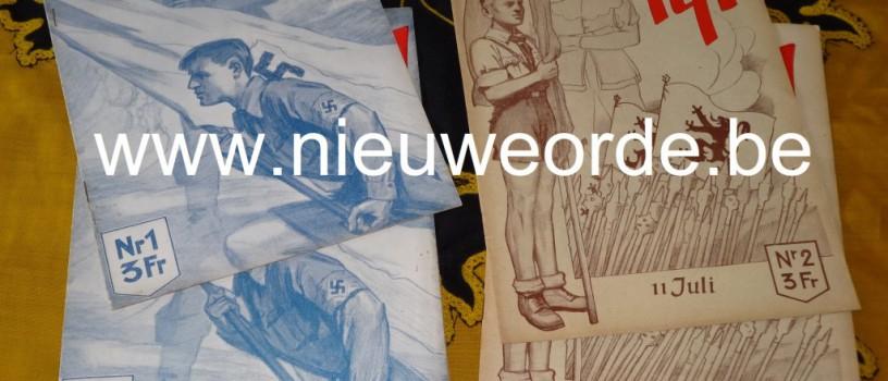 'Tijl', het maandblad van de Hitlerjeugd-Vlaanderen