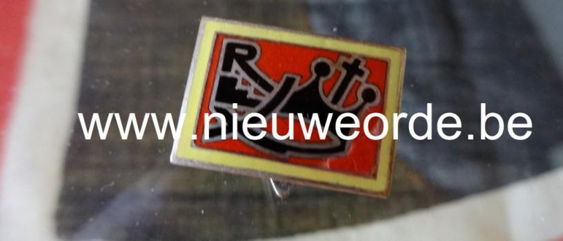 Rex-Vlaanderen speldje 'voor leden van voor 10 mei 1940'
