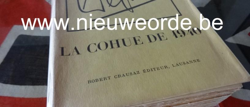 'La cohue de 1940' (Léon Degrelle, 1949)