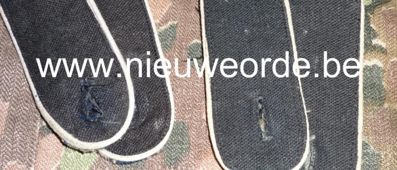 Vlaamse makelij Waffen-SS infanterie-schouderstukken voor manschappen