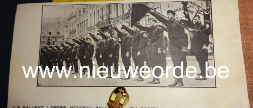 Het 'Légion Nationale': toen groetten zij de Belgische Nieuwe Orde die in hun hart leefde (1)
