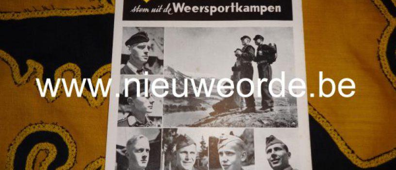 De Hitlerjeugd-Vlaanderen en de Weersportkampen