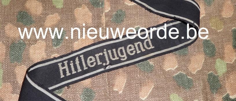 Armbandje 12. SS-Pz.-Div. 'Hitlerjugend' in 'BeVo-Änhlich'-uitvoering