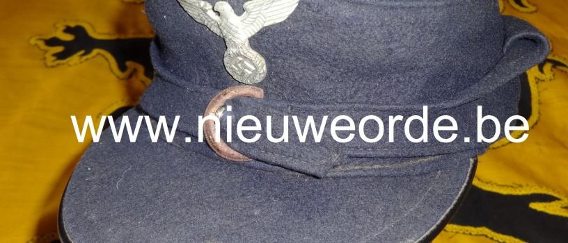 HJ-skimuts van de Hitlerjeugd-Vlaanderen