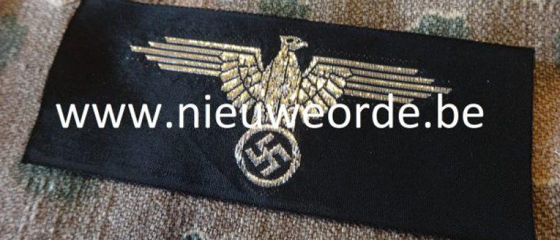 Belgische makelij SS officier armadelaar