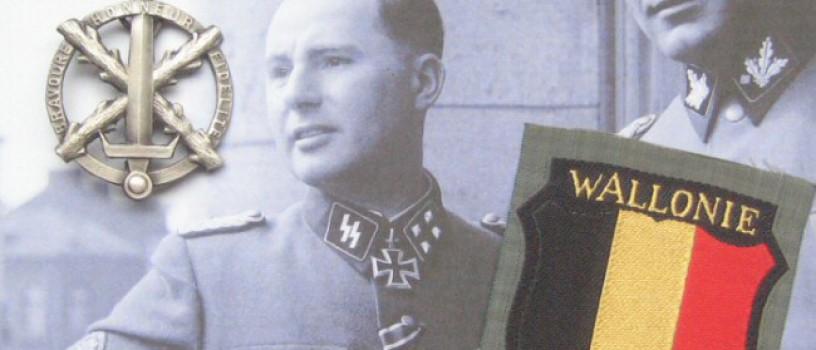 Waals 'Légion Wallonie' Armschildje