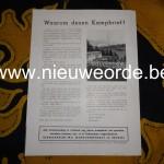 Achterzijde van de brochure 'Jeugd wordt weerbaar'.