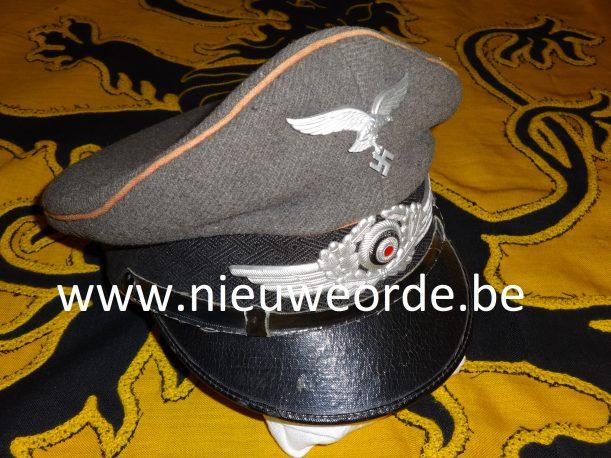 Vlaamse makelij Luftwaffe-pet (Flämische Flakbrigade)